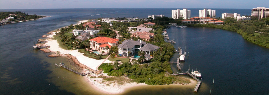 Longboat Key Waterfront Homes